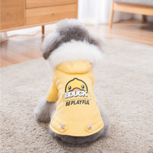 Hipidog New Best Seller Cute Thick Four-Leg Cotton Dog Coat Winter Snow Parka