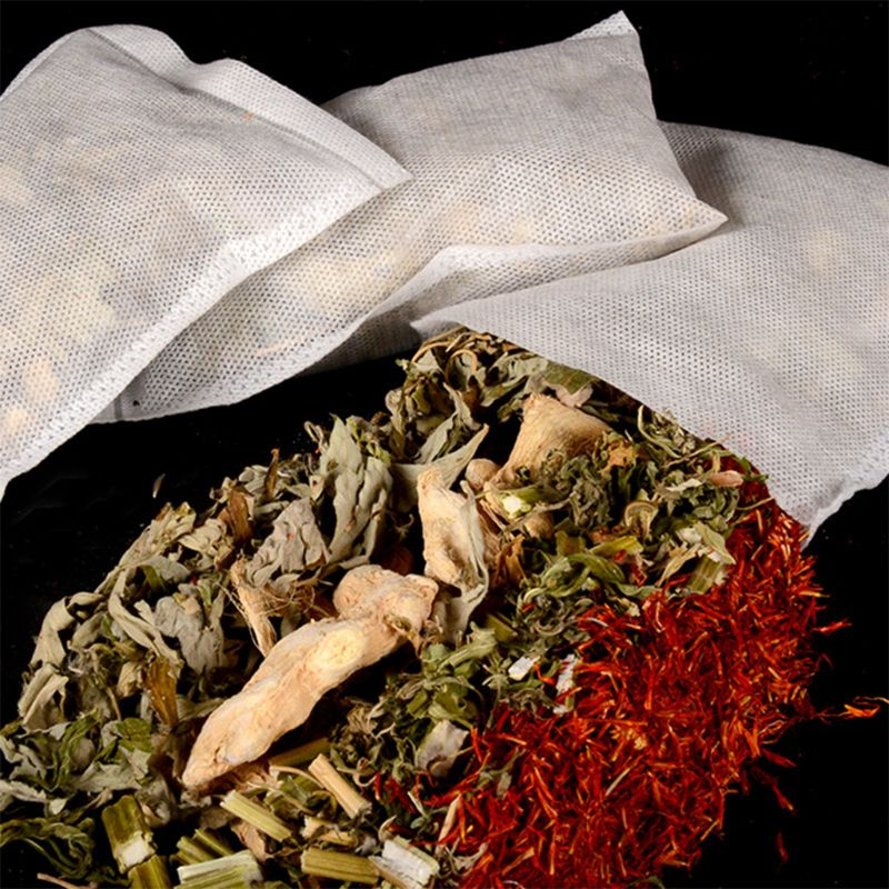 1 1 Bag 30g Chinese Herbal Medicine Wormwood Ginger Leonurus Carthamus Bag Soak Foot Bath SPA Improve Fatigue Sleep Nourishing