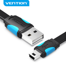 Vention Mini USB Cable USB to Mini usb Fast Charging Data Cable For Digital Camera HDD MP3 MP4 Player Tablets GPS