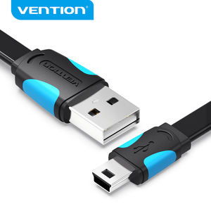 Image 1 - Vention Mini USB kablosu USB Mini usb hızlı şarj kablosu için dijital kamera HDD MP3 MP4 oynatıcı tabletler GPS
