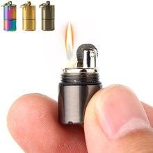 Компактная керосиновая мини зажигалка брелок с металлической