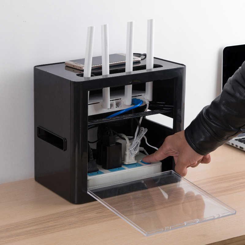 Гнездо провода приемная коробка wifi маршрутизатор Настольный шнур питания