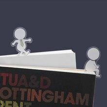 JIANWU 5 sztuk/zestaw śmieszne słodkie kształt kreskówki zakładki uczeń Mini pusta książka strona Folder Decoraction papiernicze artykuły szkolne