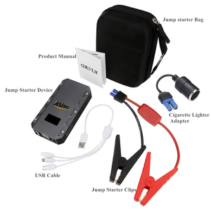Image 3 - GKFLY High Capacity Car Jump Starter 12V 1500A Starting Cables Device Portable Mini Power Bank Petrol Diesel Car Battery Booster
