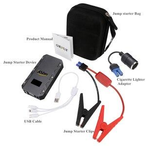Image 3 - Gkfly Hoge Capaciteit Auto Jump Starter 12V 1500A Starten Kabels Apparaat Draagbare Mini Power Bank Benzine Diesel Auto Batterij booster