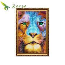 Diy Diamond Painting The Lion Head Embroidery Europe And United States Oil Style