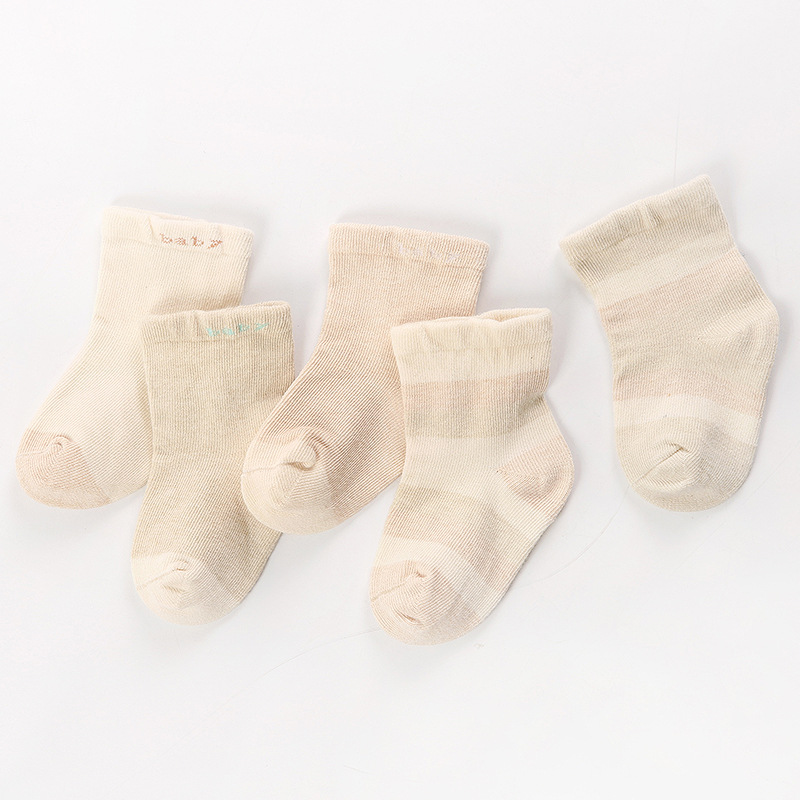 Winter Organic Cotton Children Tube Socks Casual Breathable Babies' Socks Mixed Colors Men And Women BABY'S Socks