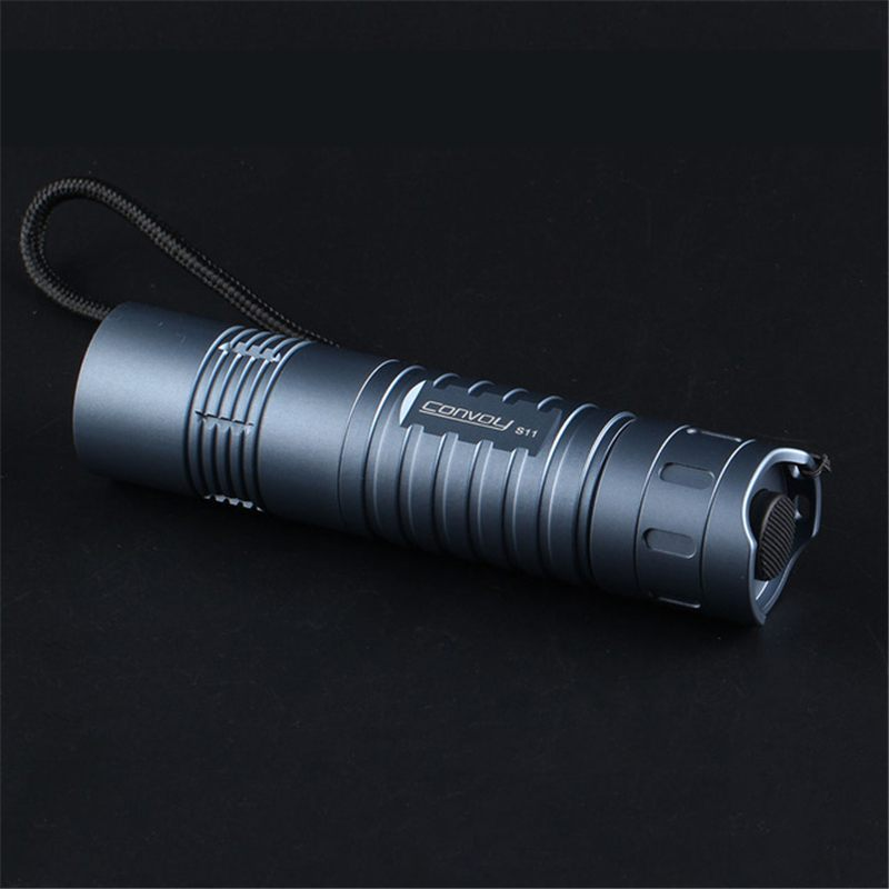 Gray Convoy S11 SST40 6500K 6A 26650 18650 2300lumens Flashlight 4 Modes LED Torch For Camping Torch Hunting Lantern Lamp