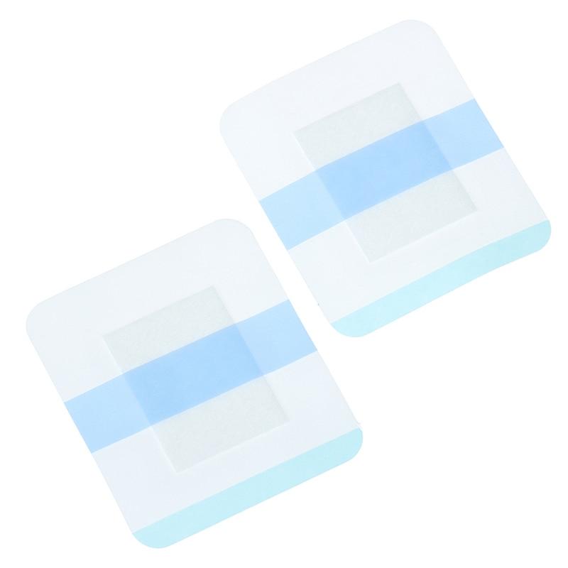 10Pcs Transparent Band Heftpflaster Atmungsaktive Wasserdichte Anti-allergische Wunde Fixierung Dressing Verband