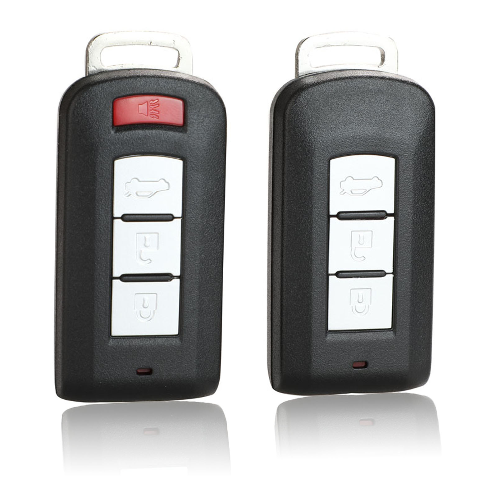 jingyuqin Smart Remote Car <font><b>Key</b></font> Shell Case For <font><b>Mitsubishi</b></font> Outlander 2016 Lancer 10 Pajero Sport EX ASX Colt Grandis <font><b>L200</b></font> Cover image