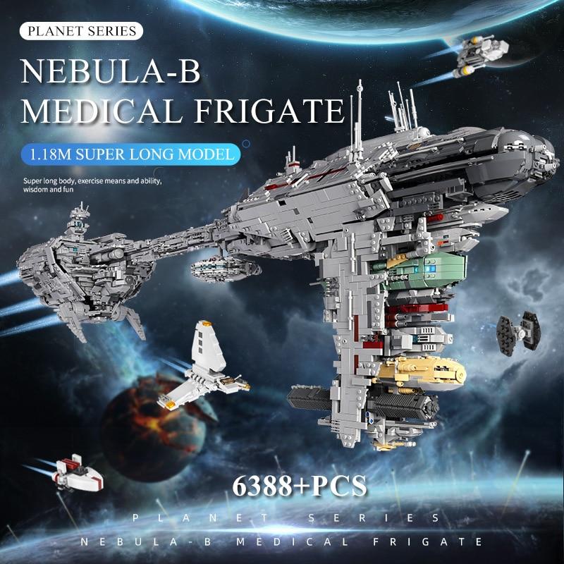 MOULD KING 21001 Compatible With MOC 5083 UCS Nebulon-B Medical Frigate Building Block