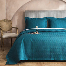 Luxury Silky Bedspreads Quilt Set 3PC 60S Egyptian Cotton Quilts For Bed Embroidered Bed Cover Pillowcase King Coverlet CHAUSUB chausub cotton bedspreads quilt set 3pcs embroidered quilts advanced quilted bed cover pillowcase king queen size coverlet