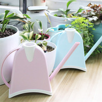 1 Plastic Candy Color Multi Meat Potted Balcony Office Mini Long Spout Kettle Gardening Tools.