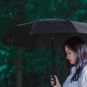 Image 5 - Xiaomi mijia自動折りたたみ傘とアルミ日傘防風男性女性防水uv冬の夏傘mi