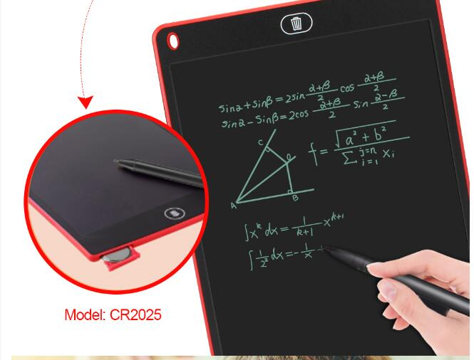 Fashion  Tablet 12 Inch LCD Writing Drawing Board Pad Electronic Digital Notepad Erasable Reusable Notebook For Kid Child