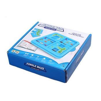 La selva laberinto rompecabezas juguetes educativos juego de mesa para niños 60...