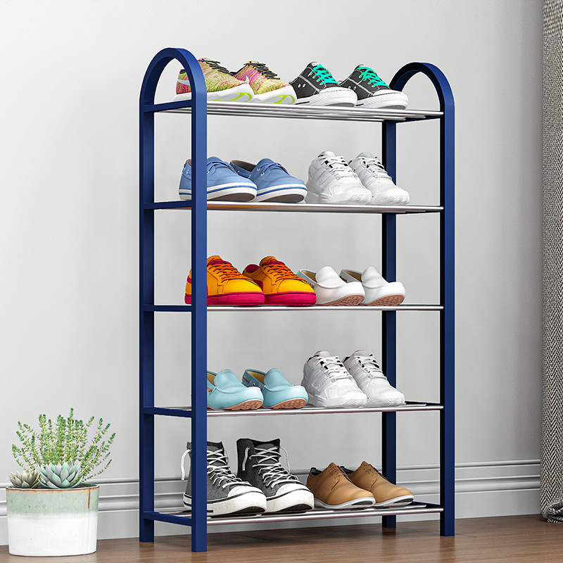 Creative Five Layers Shoe Cabinet Modern Simple Design Furniture Shoe Rack Assemble Shoe Organizer Shoemaker Stand For Footwear