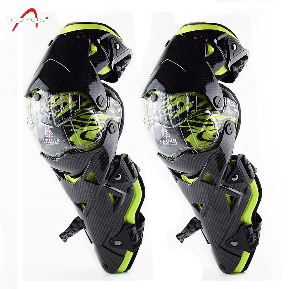 VEMAR Protective Gear kneepad Motorcycle Knee Pad Knee Protector Outdoor Sports Scooter Racing Guards Safety Gears Race brace