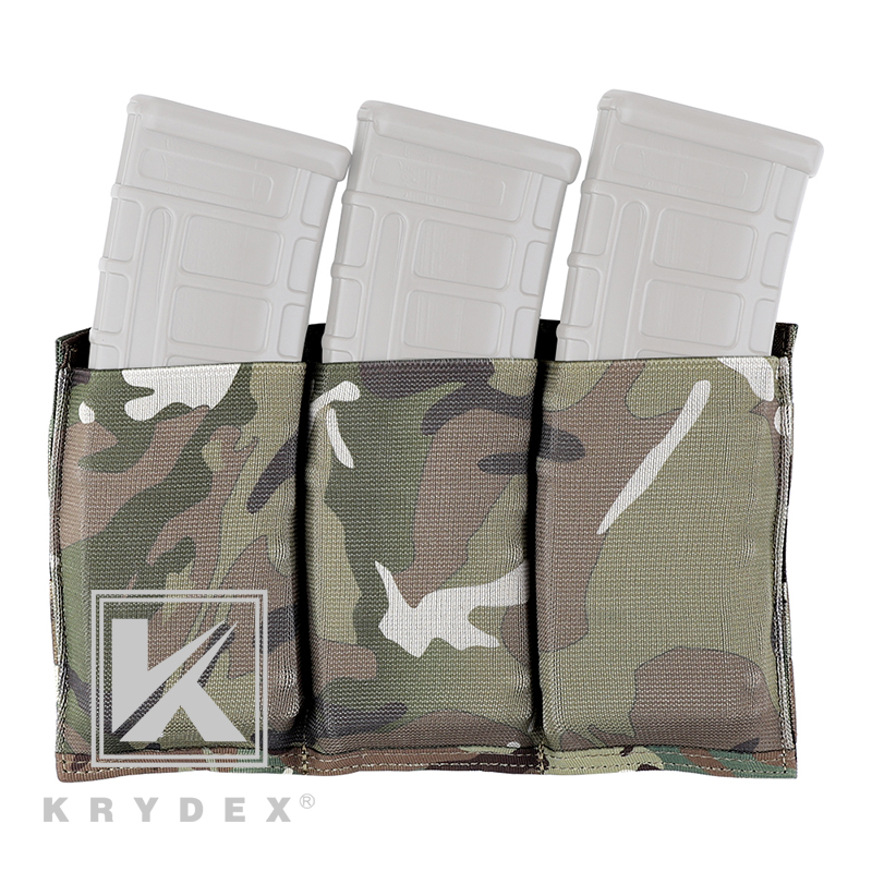 Official Multicam Tactical 5.56 Rifle Triple Mag Pouch