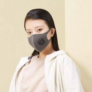 Image 3 - В наличии Быстрая доставка Youpin Smartmi фильтр Маска блок 96% PM 2,5 вентиляционный клапан долговечный ТПУ материал маска против смога