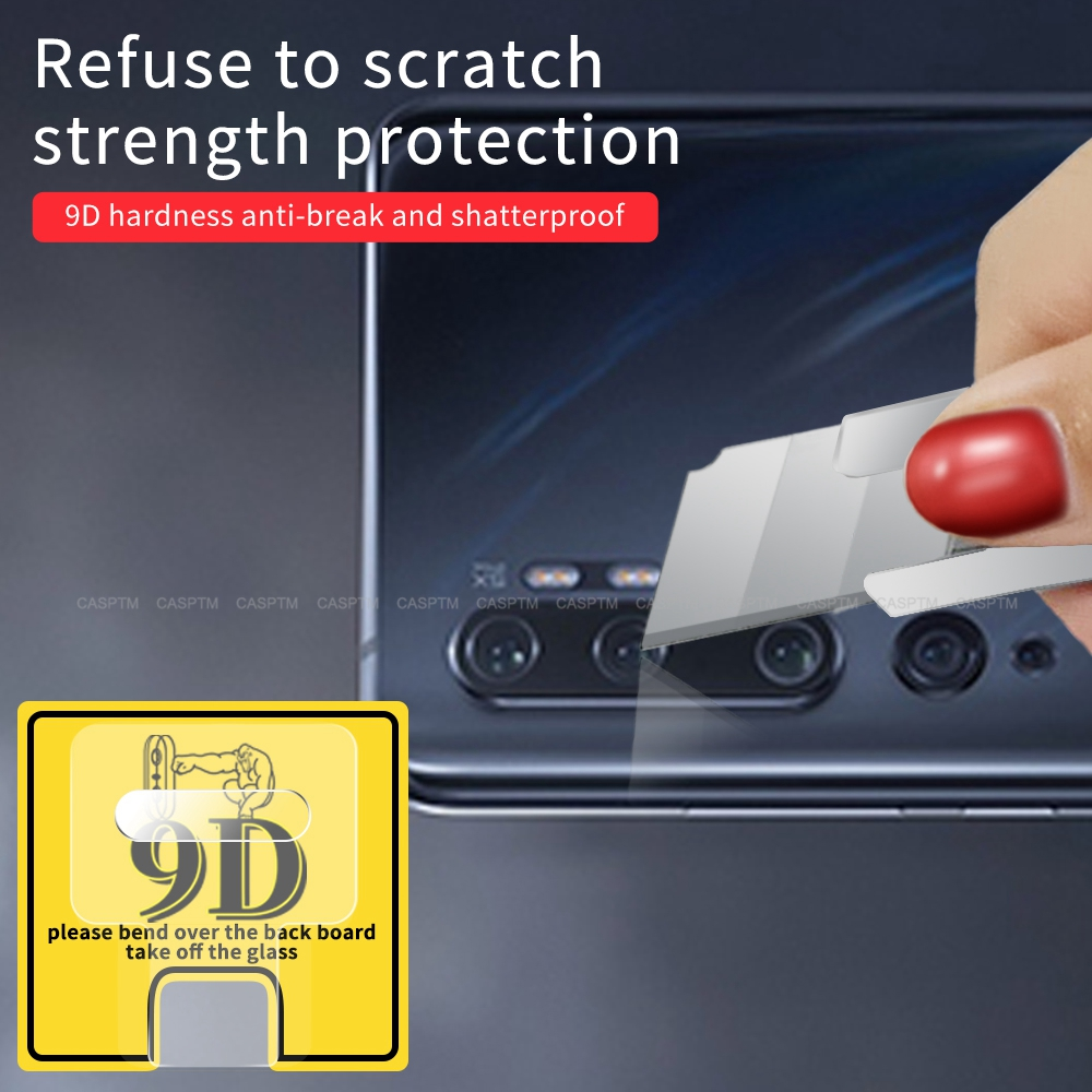 Explosion Proof Camera Lens Case Cover For Xiaomi Mi CC9 Pro Tempered Glass Clear Camera Protective Film For Xiaomi Mi Note 10