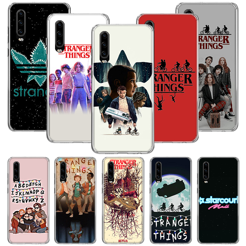 <font><b>stranger</b></font> <font><b>things</b></font> 3 <font><b>Case</b></font> for <font><b>Huawei</b></font> <font><b>P20</b></font> P30 P Smart Z Plus 2019 P10 Mate 30 10 20 <font><b>Lite</b></font> Pro Silicone Sac <font><b>Phone</b></font> Coque Cover Shell image
