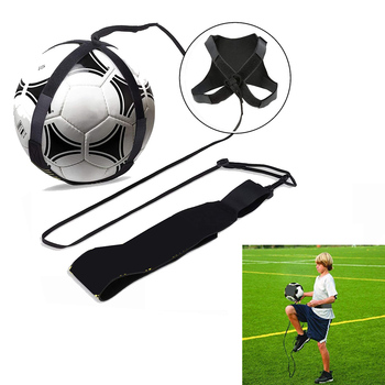 Football Trainer Soccer Training Sports Assistance Adjustable Soccer Ball Practice Belt Training Equipment Kick soccer training sports assistance adjustable football trainer soccer ball practice belt training equipment kick new apr20