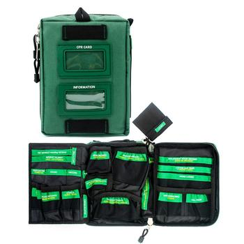 BearHoHo Handy First Aid Kit Bag  Lightweight Emergency Medical Rescue Outdoors Car Luggage School Hiking Survival Kits - discount item  23% OFF First Aid Kits