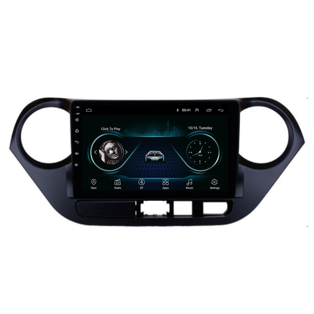 Quad Core Android 8.1 For HYUNDAI I10 2014 2015 2016 2017 Multimedia Stereo Car DVD Player Navigation GPS Radio