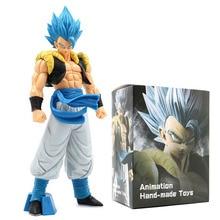 32CM Anime Dragon Ball Z Gogeta Action Figures Super Saiyan Grandista Figma Blue Goku Toys Doll Model PVC Collectible Decoration стоимость