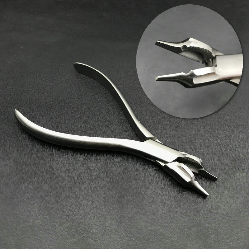 Three Jaw Contouring Wire Bending Orthodontic Pliers Dental Forceps Surgical Instruments