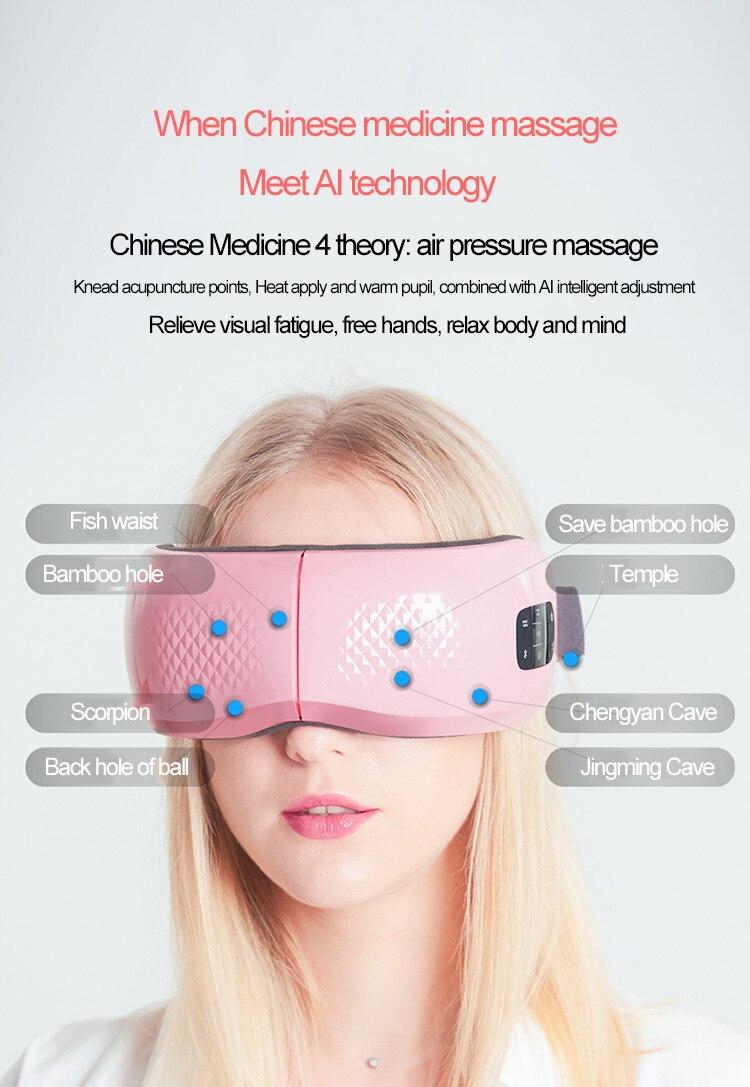 Massagem olho Instrumento
