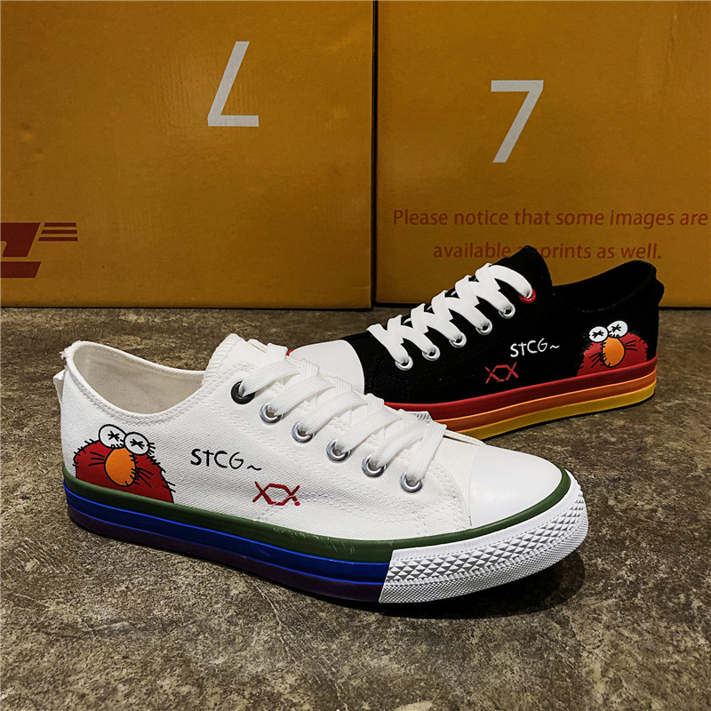 Sneakers Men Mens Shoes Sports Shoes Vulcanize Shoes Men Canvas Spring Autumn Fashion Sneakers Man Flat Shoes Men Casual Shoes in Men 39 s Vulcanize Shoes from Shoes