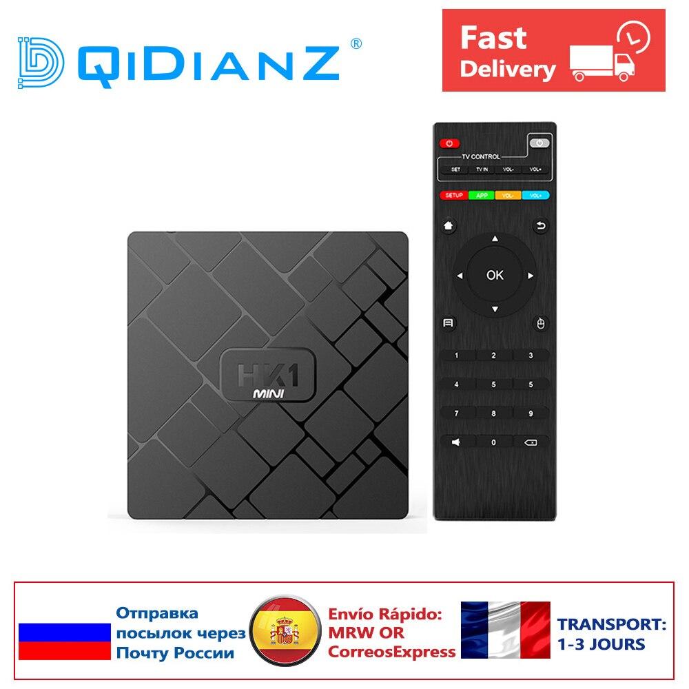 ANDROID 9.0 HK1mini Smart TV BOX HK1 mini SET TOP BOX support Youtube Rockchip RK3229 Quad-Core 2GB+16GB Media Player(China)