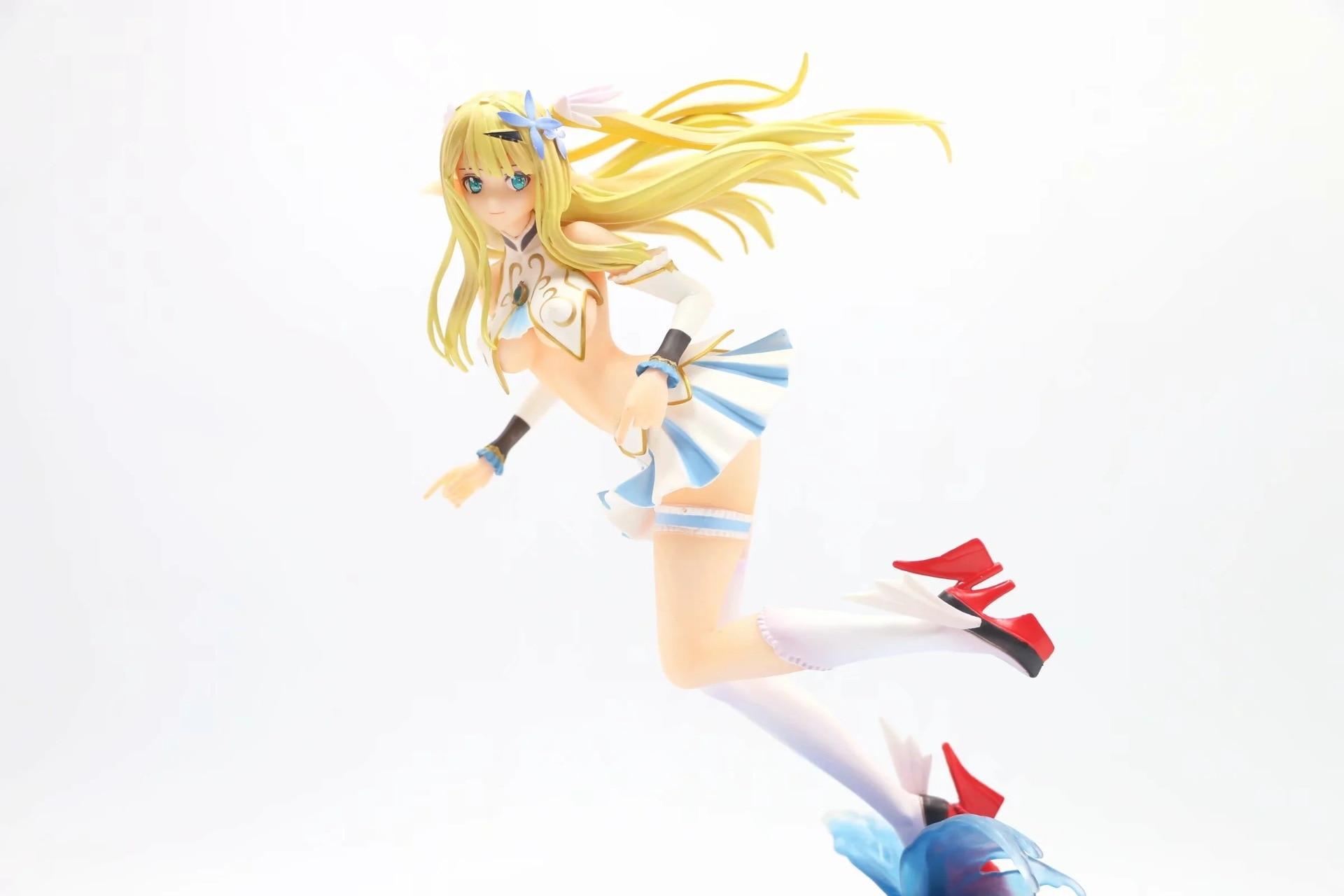 25cm jogo estátua azur lane cent centauro tony figura de ação pvc suporte anime figura menina sexy japão collectible modelo boneca