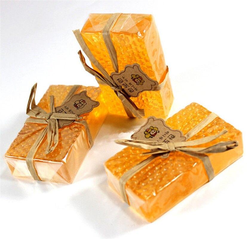 Natural 100g Honey Kojic Acid Bath Soap Handmade Whitening Soap Peeling Glutathione Arbutin Bath Body Skin Deep Cleaning Soap
