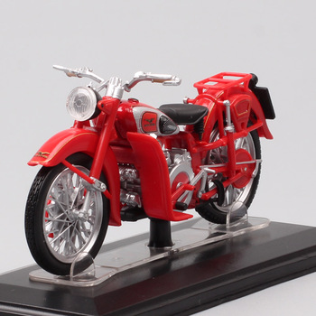 1/22 scale Starline classics vintage 1948 moto guzzi astore 500 motorcycle Diecasts & Toy Vehicles model bike toys acrylic box image