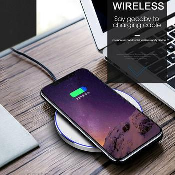 15W Qi Wireless Charger for iPhone X Xs MAX XR 8 plus Fast Charging for Samsung S8 S9 Plus Note 9 8 USB Phone Charger Pad 1