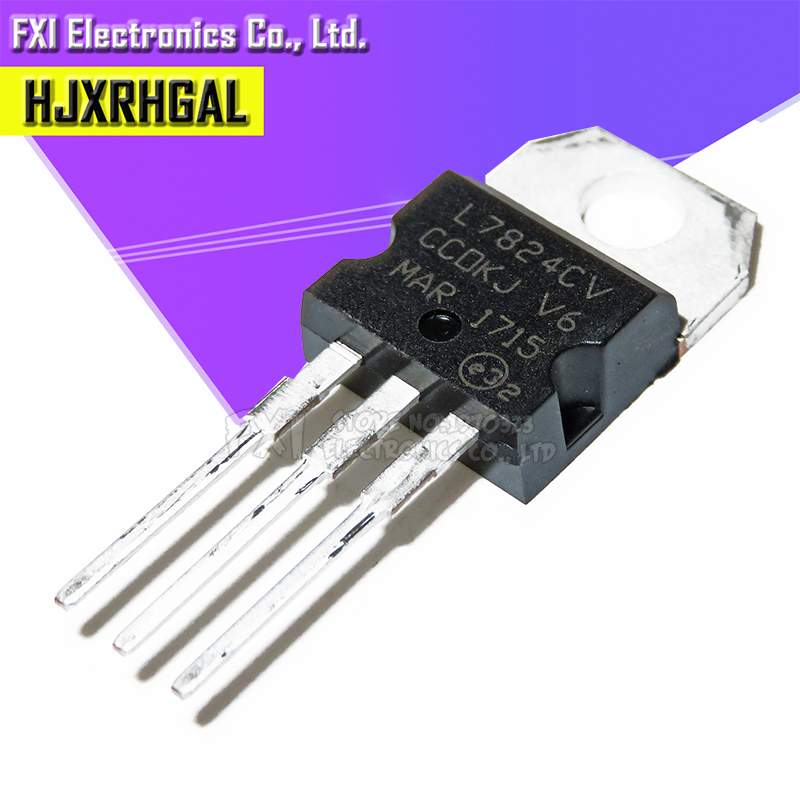 5pcs L7824CV L7824 LM7824 7824 NEW Good Quality