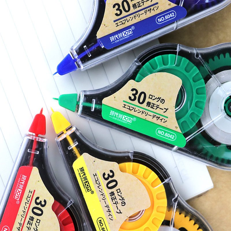 30M Big Capacity Correction Tape Roller Correcting Corrector Correctie Tape White Out Student Office School Supplies Stationery