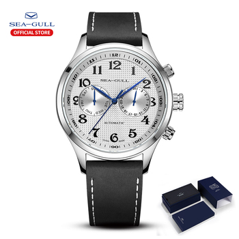Seagull Men's Watch Business Casual Waterproof Belt Multifunctional Automatic Mechanical 6063 Master Series - discount item  55% OFF Men's Watches