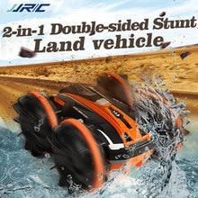 Jjrc rc carro 4wd água & terra aleta de alta velocidade drift crawler auto máquina controle rádio a pilhas controle remoto carros presente