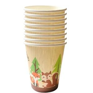 Столовая посуда в лесу, джунгли, сафари, украшение на день рождения, дикая 1-й день рождения, праздничные принадлежности, бумажные тарелки с животными и лесными, баннер