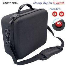 Nintendoswitch saco de transporte grande nintend acessórios proteção eva casca dura caso viagem capa para nintendo switch console