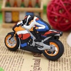 Sale Motorbike Real Capacity Usb Flash Drive 2.0 Pen Drive 128GB Motorcycle Usb Flash Disk 256GB Pendrive 512GB Flash Memory Usb