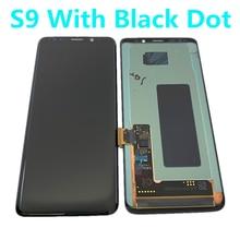 מקורי AMOLED תצוגה עבור SAMSUNG Galaxy S9 LCD G960 G960F תצוגת מגע מסך החלפת חלקים