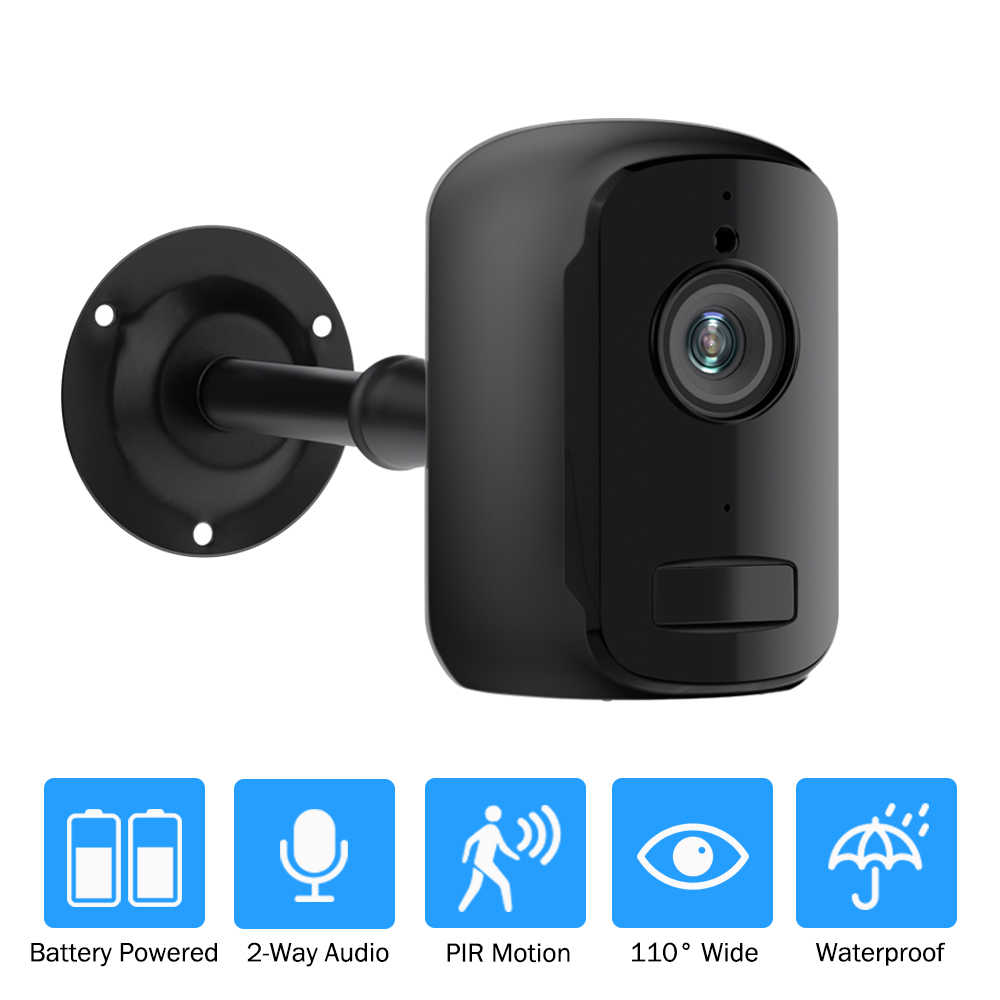Battery Wifi Camera 1080P Outdoor Rechargeable Powered Home Security Surveillance IP Camera Wireless Two Way Audio PIR Alarm