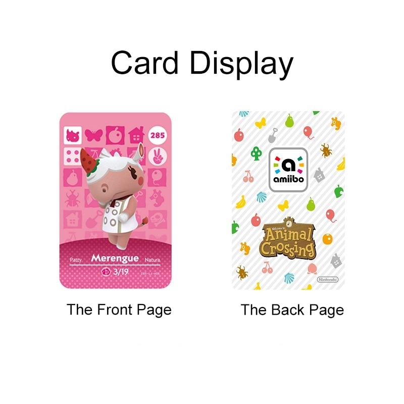 018 Bob Animal Crossing Cross Card Amiibo Card Amiibo Animal Crossing Game Card New Horizons Animal Crossing Welcome Amiibo 2