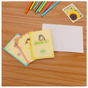 Image 2 - 40 יח\חבילה נחמד חמוד אופנה מיני ספרים/סטודנטים חמוד עותק רך פנקס קטן/מחברת cartoon/ילדי מתנה