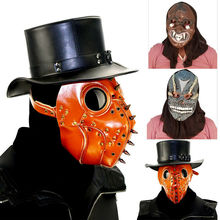 COOL Halloween  Mask Decor Steampunk Plague Doctor 2019 Brand New Cosplay Bar Party Props Gifts